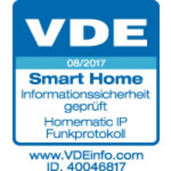 Gütesiegel VDE Smart Home